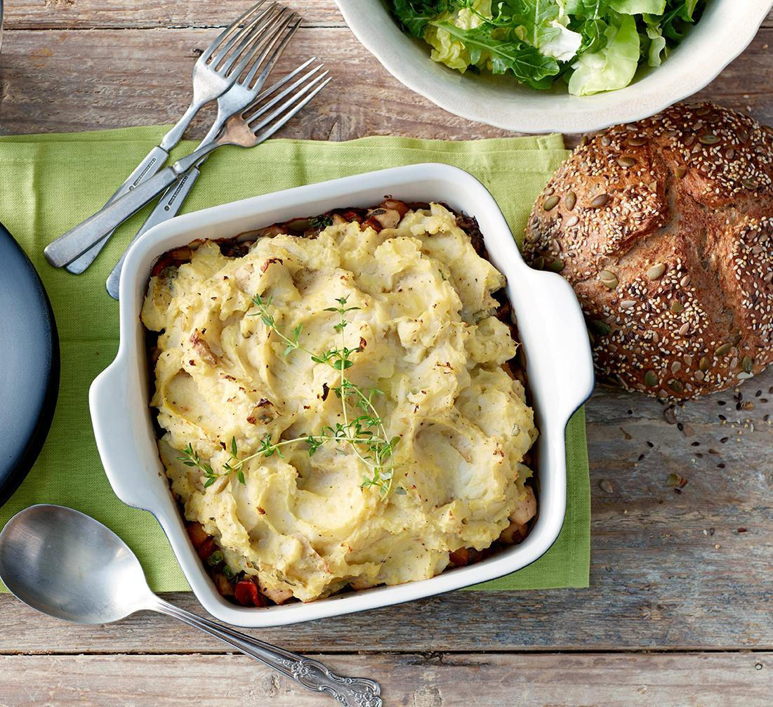 Farmhouse Chicken Shepherd's Pie