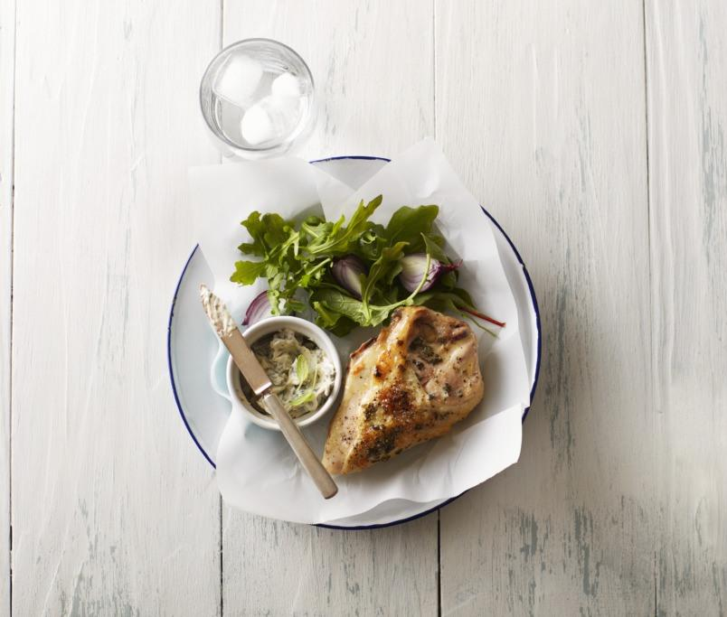 Sage Butter-Roasted Chicken Breasts