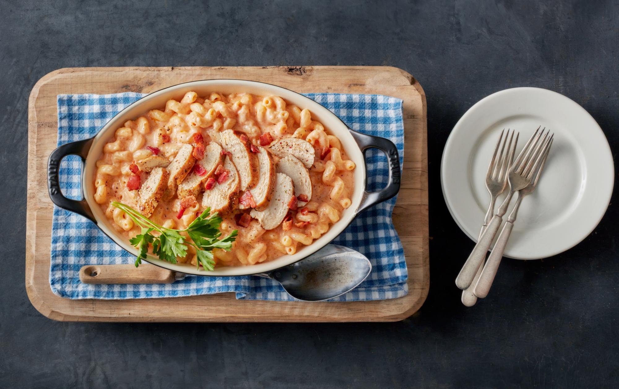 Smoky Chicken Mac'n Cheese