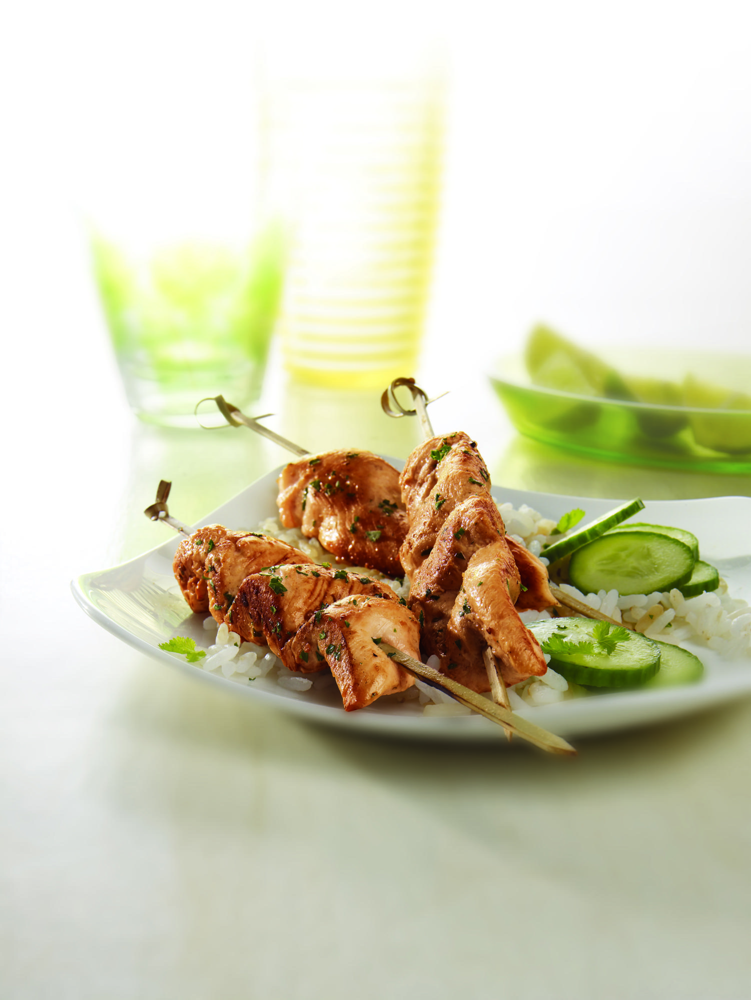 Lime Chili Chicken Satays
