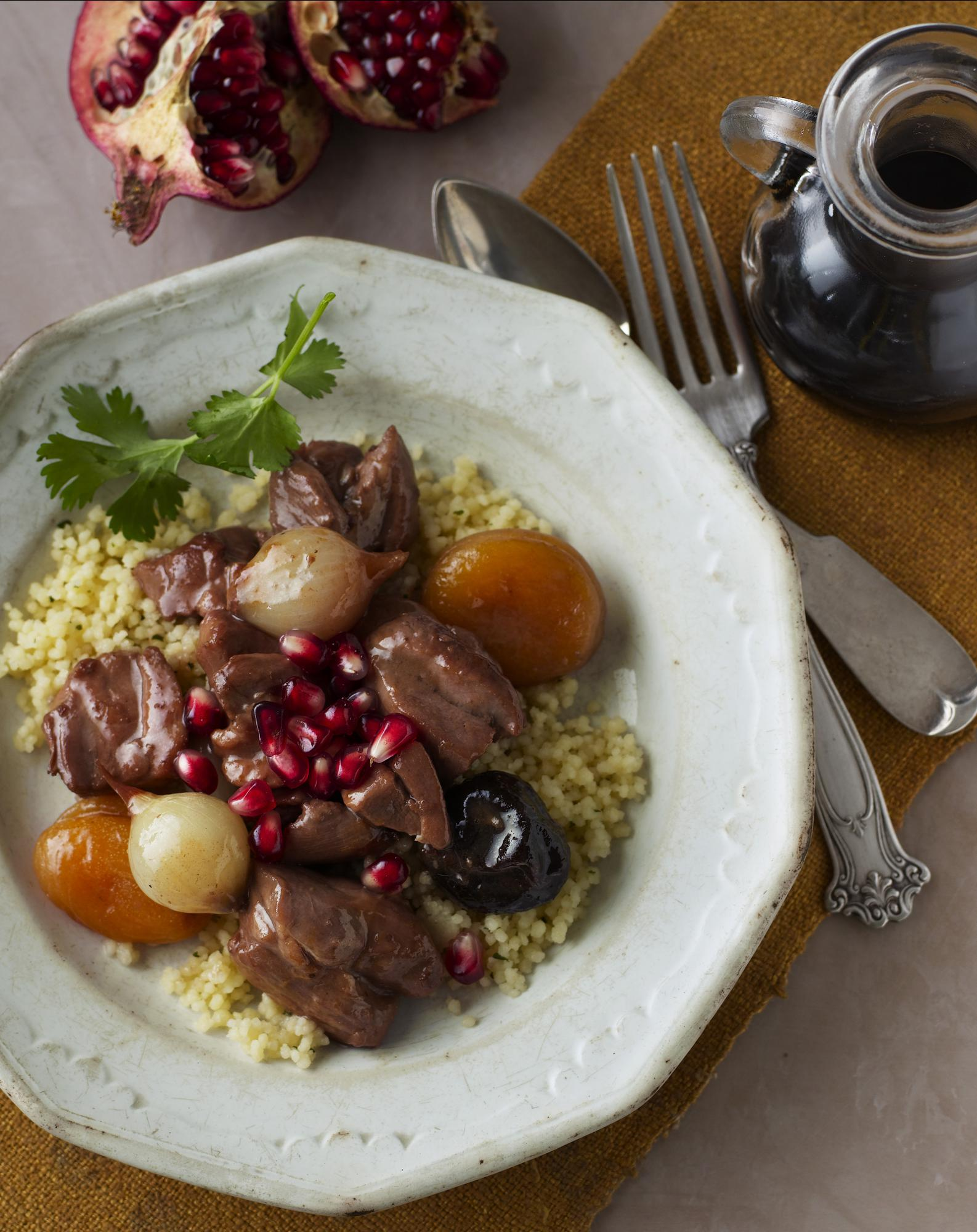 Chicken Pomegranate Tagine