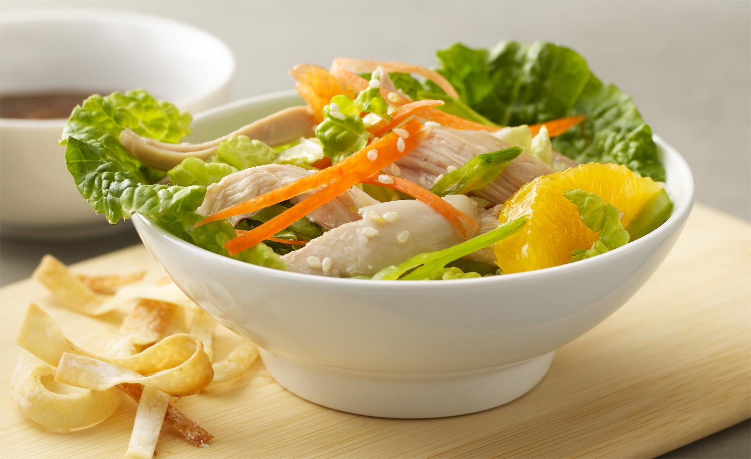 Refreshed Chinese Chicken Salad