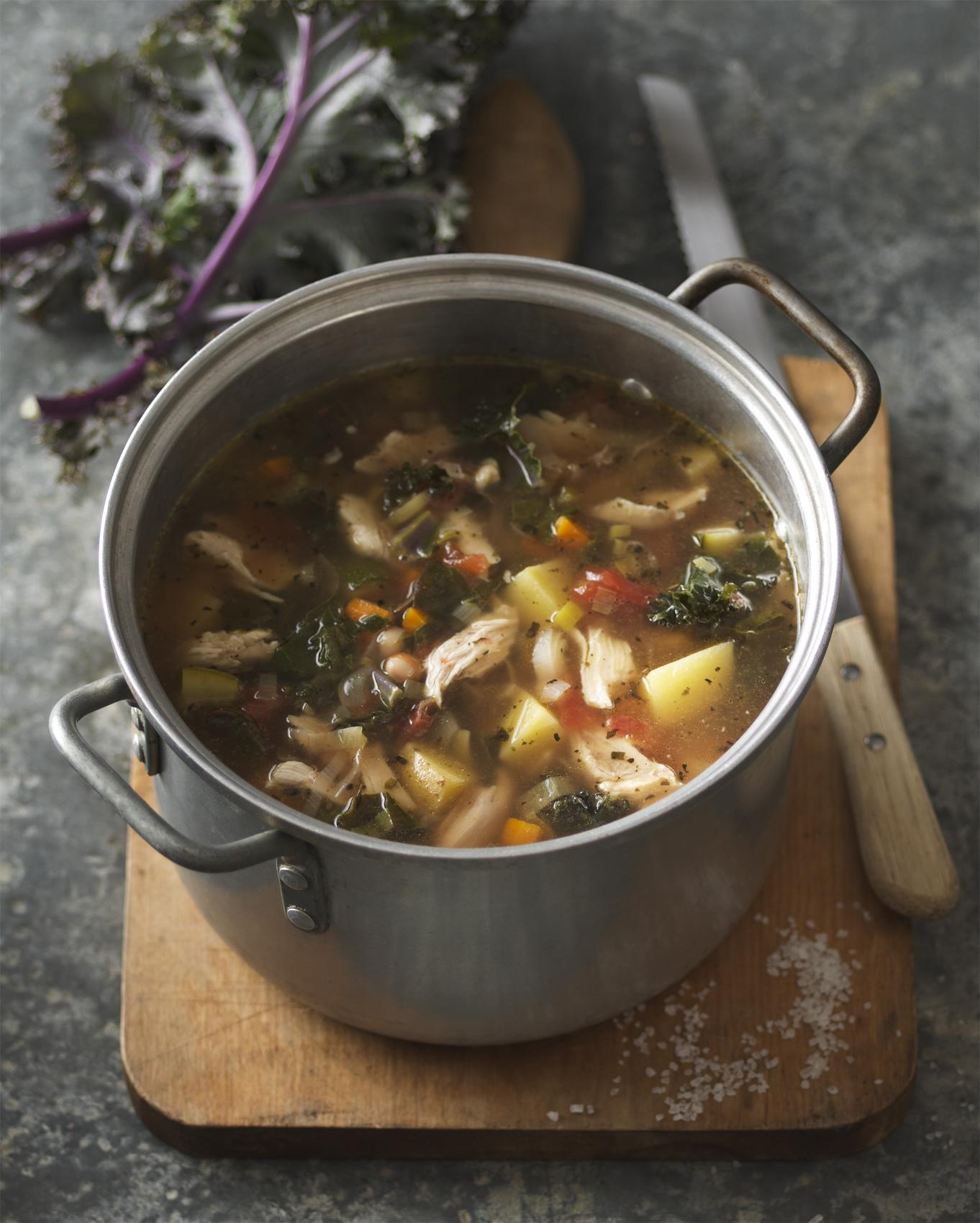 Hearty Chicken Ribollita Soup