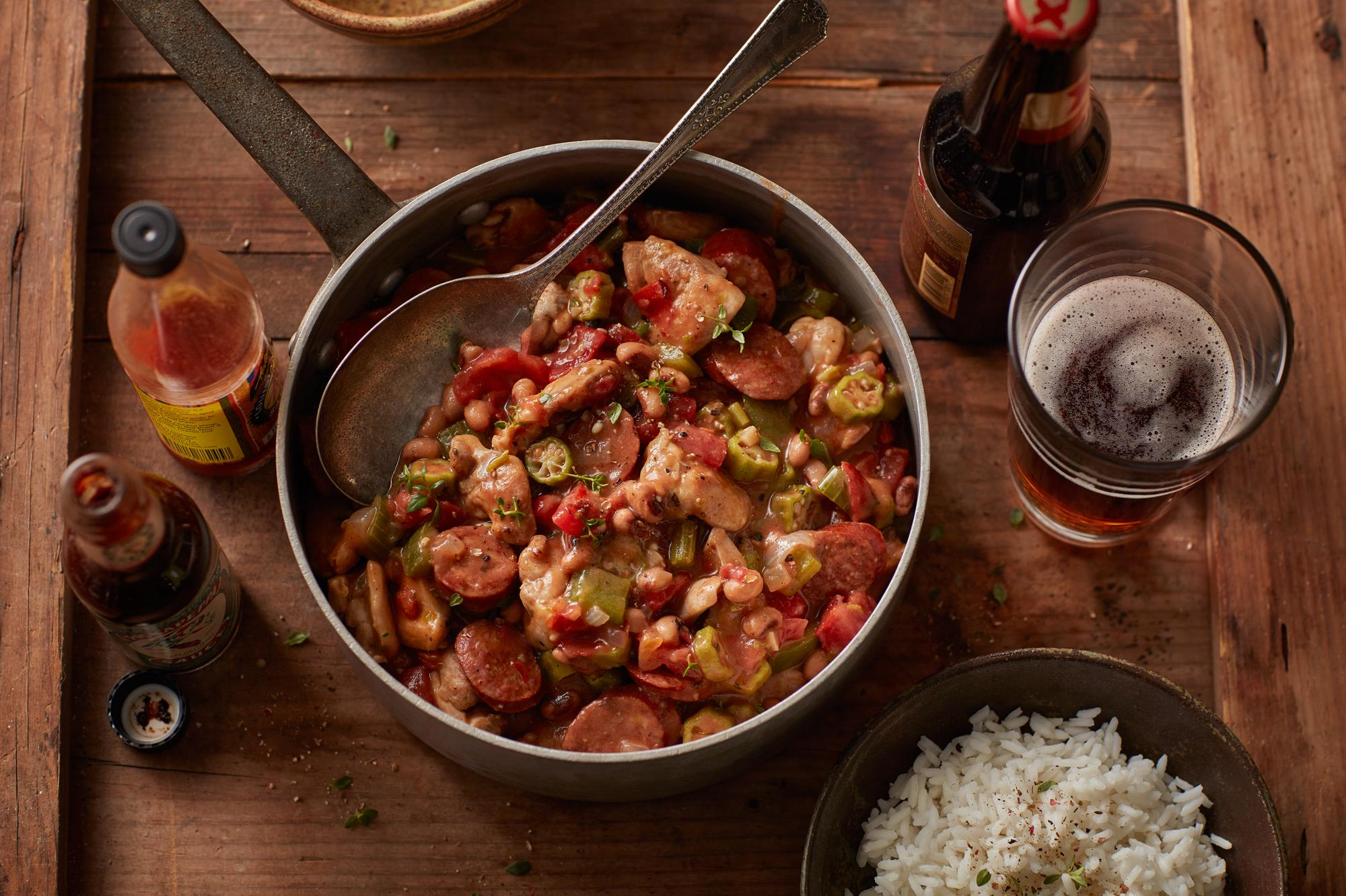 Creole Chicken & Sausage Gumbo