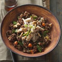 Imperial Chicken Fried Quinoa