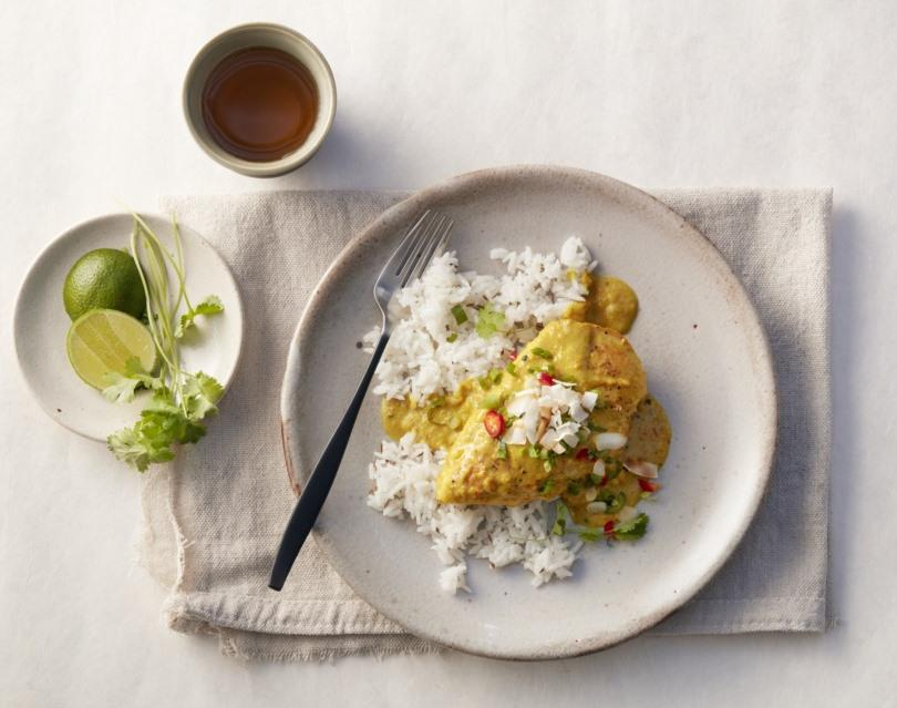 Turmeric Curry Chicken